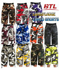 Cargo Regular Size 32 Camouflage Shorts for Men