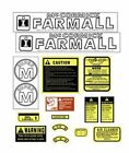 Caseih Tractor Decals for Farmall