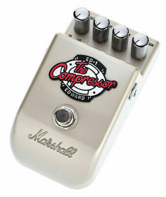 Marshall ED-1 Edward The Compressor Guitar Effects Pedal, PEDL-10023