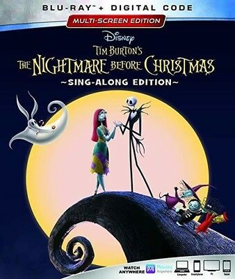 The Nightmare Before Christmas (25th Anniversary Edition) [New Blu-ray] Annive