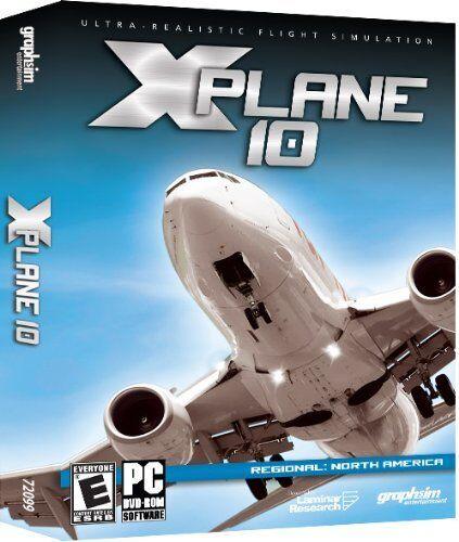 X-plane 10 Regional North American Pc Dvd Factory Sealed
