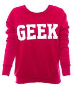 Womens Geek Jumper