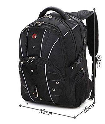Gear 17.3 Inch Laptop Backpack Travel Bag Camping Hiking School ...