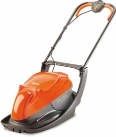 HARDLY USED! FLYMO EASI GLIDE 330 MOWER+FREE STRIMMER-COLLECT SHROPSHIRE