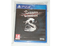 SONY PLAYSTATION PS4 GAME SHADOW WARRIOR PAL 18 NAMCO BANDAI REVOLVER FOR DEAD.*