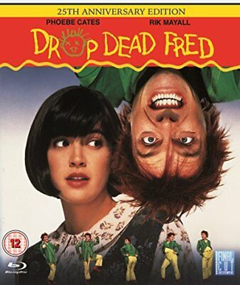 Drop Dead Fred   25Th Anniversary Edition  Blu Ray Movie  Region Free  New