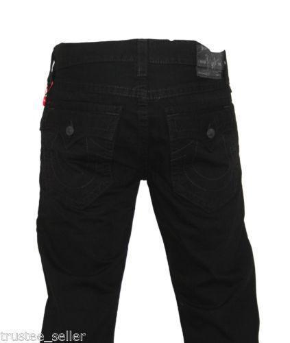 Black True Religion Men Jeans 34 | eBay