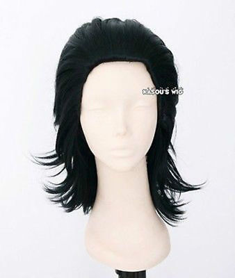 Loki Laufeyson Avengers Thor version. layers cosplay wig with widows peak