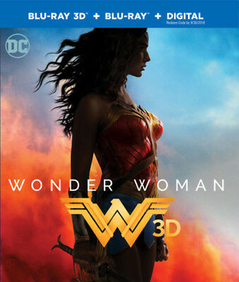 Wonder Woman  2017  Blu Ray 3D