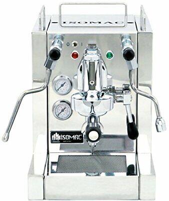 La Pavoni Kia Isomac Espresso Machine Stainless Steel