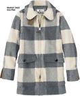 Plaid Duffle Coat Casual Coats & Jackets for Women