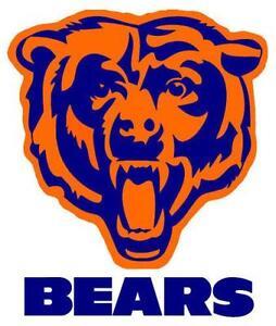 Chicago Bears Cornhole Decals  sc 1 st  eBay & Chicago Bears Decal: Football-NFL | eBay
