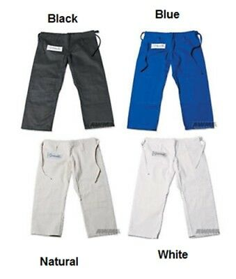 New Proforce Gladiator Jiu Jitsu Judo Grappling Uniform Gi Pants - FREE (Judo Gi Uniform)