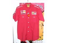 Mens F1 Scuderia Ferrari short sleeve shirt