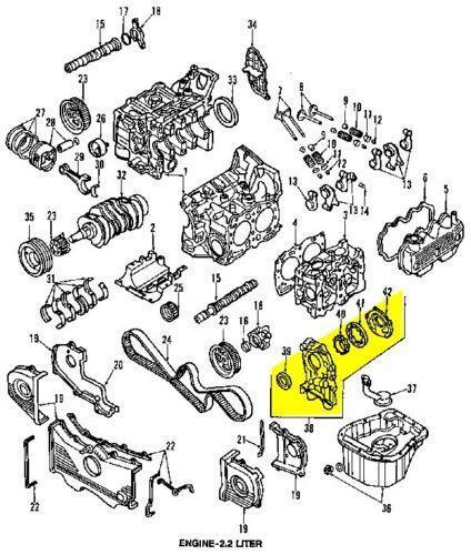 Subaru 20 Oil Pump Diagram. Subaru. Auto Parts Catalog And
