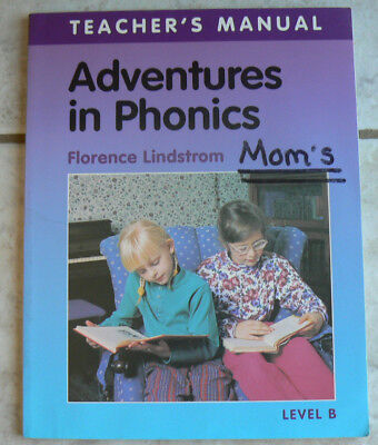 Clp Adventures In Phonics Level B Teachers Manual Christian Liberty Press Gr 1