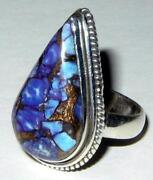Large Turquoise Sterling Ring