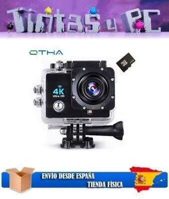 "CÁMARA DEPORTIVA GOPRO OTHA 4K SPORTS FULL HD WIFI LCD 2.0"" 16MP 1080p ESPAÑOL"