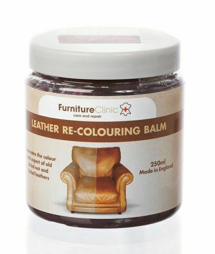 Furniture Clinic Leather Recoloring Balm 8.5 oz Leather Color Restorer