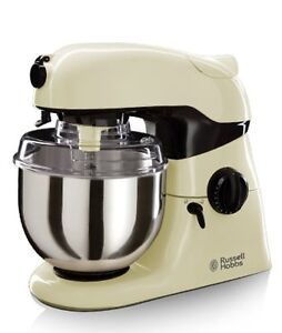 russell hobbs creations 800w stand mixer cream 18557 ebay. Black Bedroom Furniture Sets. Home Design Ideas