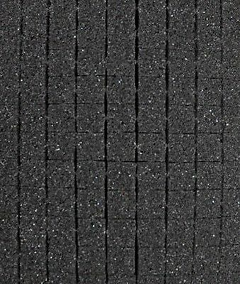 "Pick and Pluck Charcoal Foam 5"" X 7"" X 1"" with 1/2"" pull apart grid"