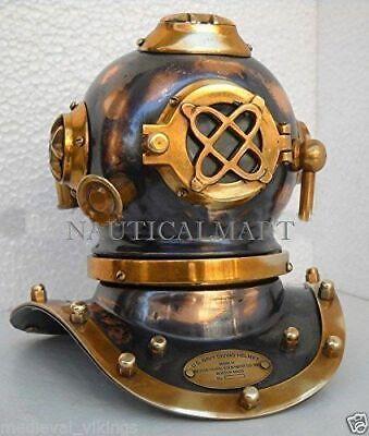 """Antique Replica Mini Diving Helmet Divers Helmet US Navy Mark V Deep Sea 7"""""""