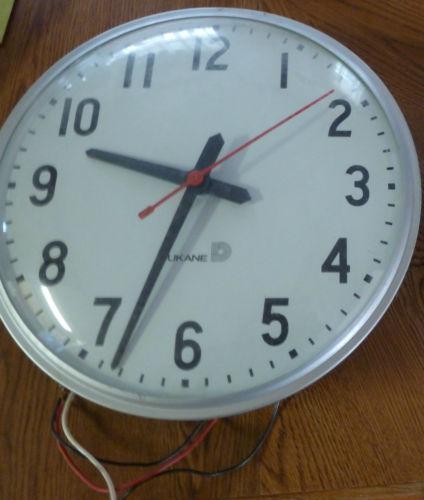 Vintage School House Clock Ebay