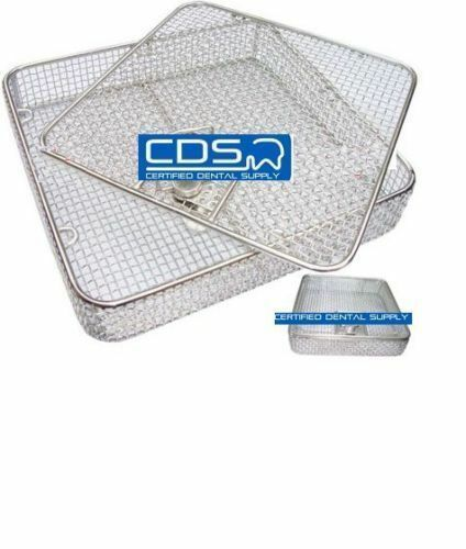 FULL WIRE MESH BASKET WITH HINGED REMOVABLE LID LOCK - SMALL SHAF-0101