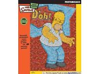 The Simpson''s - Homer D'oh! Photomosaic Jigsaw Puzzle 550 Piece Brand New & Sealed