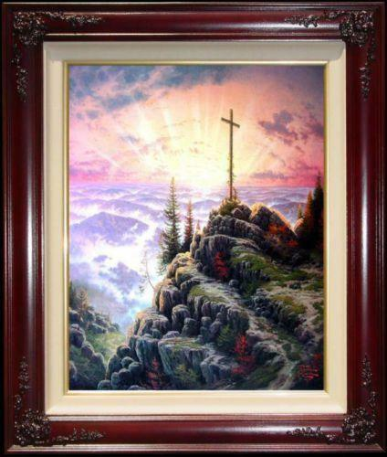 Thomas Kinkade Sunrise Ebay