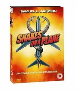 Snakes On A Plane DVD New & Sealed 5017239194016