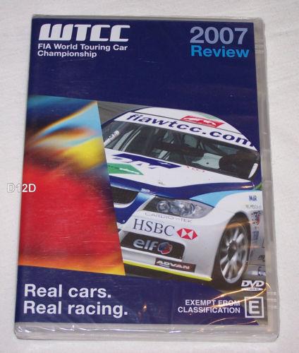FIA World Touring Car Championship WTCC 2007 Season Review DVD all region NEW!