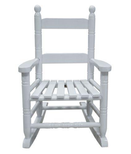 White Rocking Chair ~ Kids white rocking chair ebay
