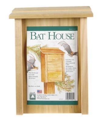 North States 1641 Cedar Construction Bat House