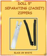 Doll Zippers