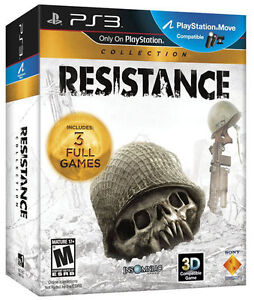 Resistance Collection (Resistance 1,2 & 3) Sony Playstation 3 PS3 *NEW*