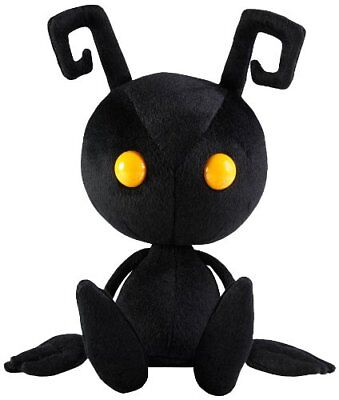 Kingdom Hearts Shadow Heartless Square Enix Plush Sitting Doll Toy 12'' Gifts (Heart Toy)