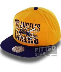 cf59ef5465e Mitchell and Ness Snapback Lakers