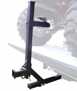 ATV tie-down system for truck