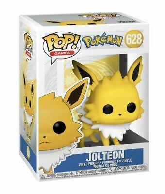 Jolteon | Pokemon | Electric Eevee Evolution | Funko Pop 628 | Mint Box