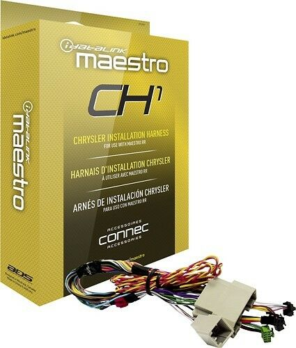 HRN-RR-CH1 IDATALINK MAESTRO CH1 / CHRYSLER, DODGE, JEEP HARNESS FOR ADS-MRR