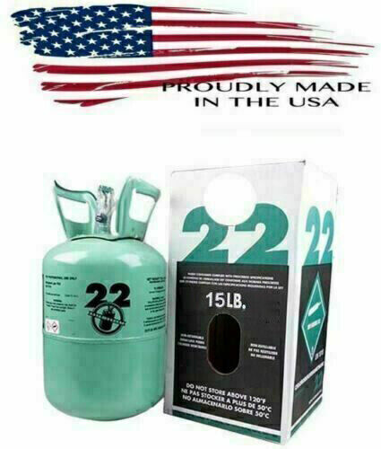 R22 R 22 Refrigerant 15lb Cylinder  Made in USA Lowest Price on Ebay