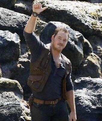 Jurassic World Fallen Kingdom Owen Grady Chris Pratt Leather Vest