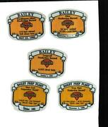 Consol Coal Mining Stickers