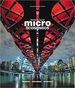 Principles of Microeconomics, 7th / Seventh Canadian Edition $95