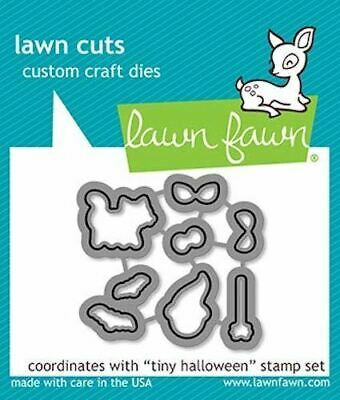 Lawn Fawn Tiny Halloween-On Lawn Cuts