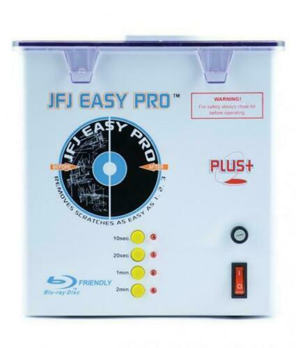JFJ Easy Pro Universal Video Game DVD CD Clean Scratch Removing Repair Machine