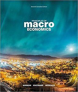 Principles of Macroeconomics, 7th / Seventh Canadian Edition $95