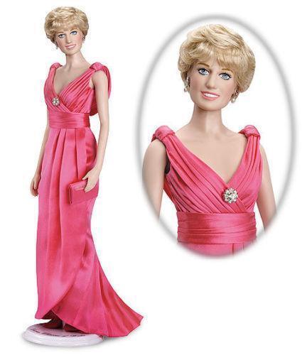 Franklin Mint Princess Diana Doll Ebay