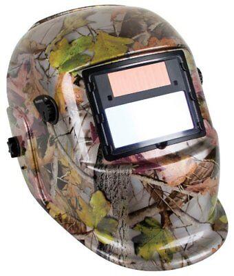 Forney 55652 Camouflage Auto-darkening Welding Helmet Variable Shade 9 To 13